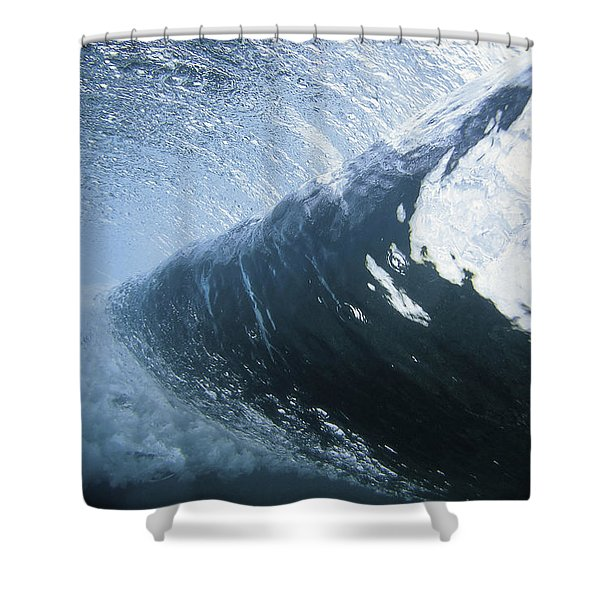 Cloud 9 Shower Curtain by Sean Davey