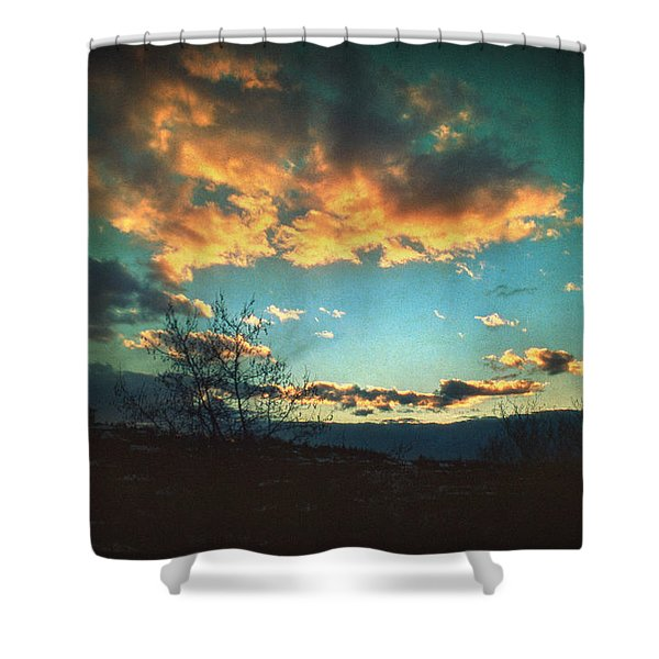 Cloudy Now Shower Curtain by Taylan Soyturk