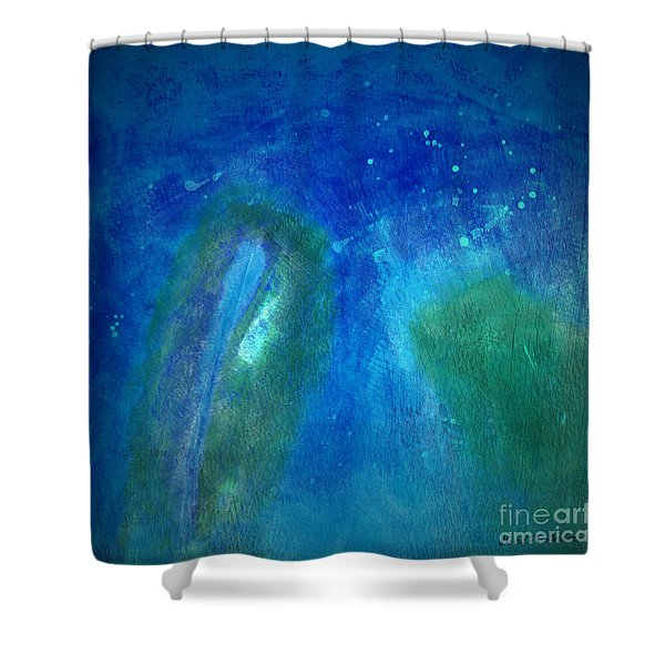 Color Abstraction Viii Shower Curtain by David Gordon