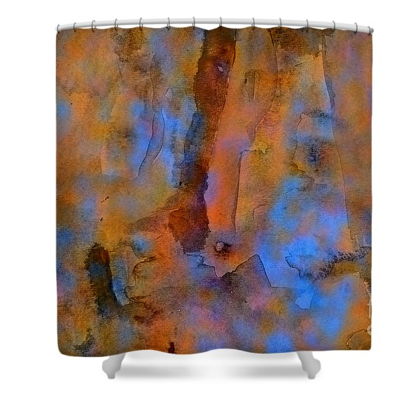 Color Abstraction XVIII Shower Curtain by David Gordon