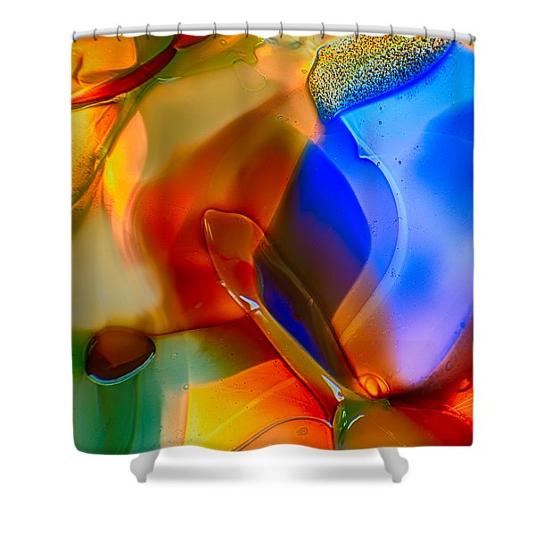 Color Friends Shower Curtain by Omaste Witkowski