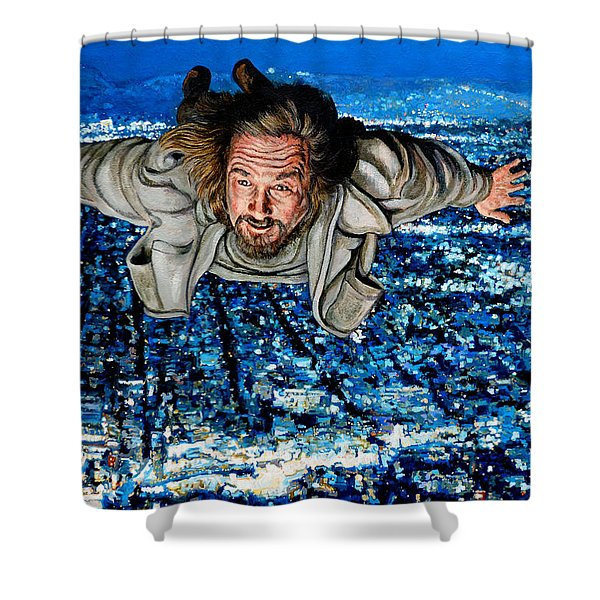 Come Fly With Me Shower Curtain by Tom Roderick