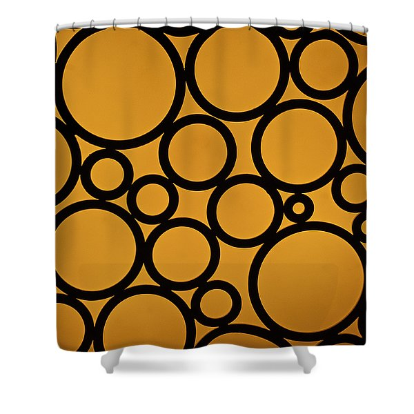 Come Full Circle Shower Curtain by Christi Kraft