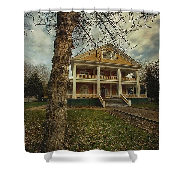 Commissioner's Residence Shower Curtain by Priska Wettstein