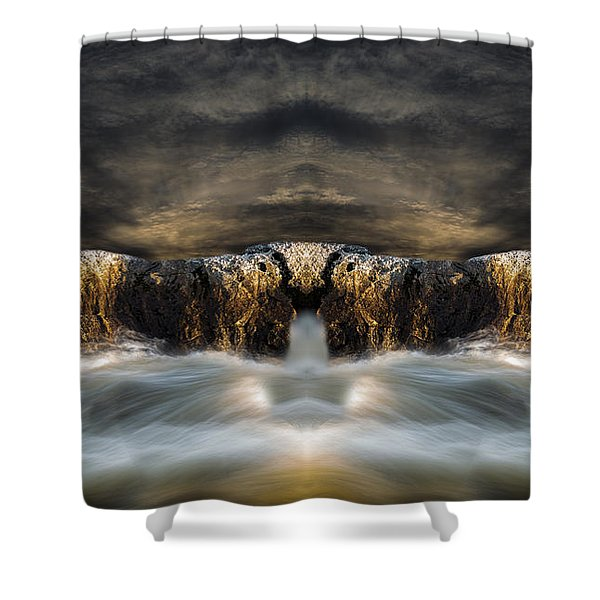 Convergence  Shower Curtain by Bob Orsillo