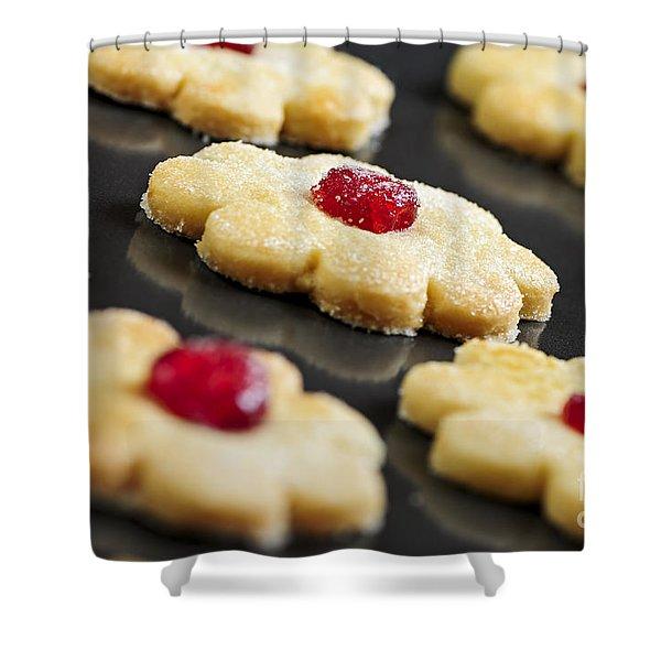 Cookies Shower Curtain by Elena Elisseeva