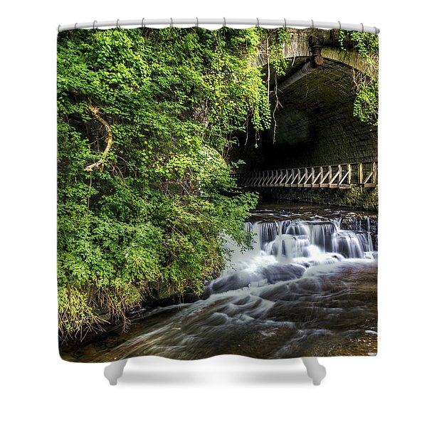 Corbett's Glen Vines- Ny Shower Curtain by Tim Buisman