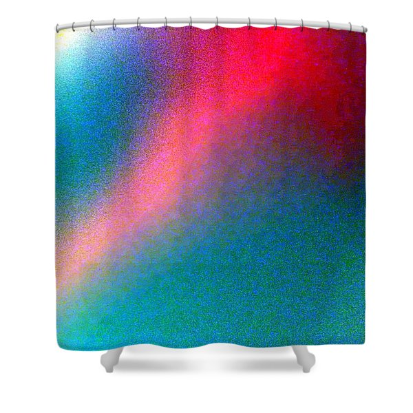 Cosmic Dust 1 Shower Curtain by Will Borden