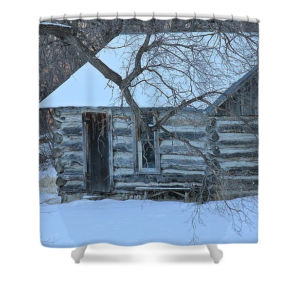 Cozy Hideaway Shower Curtain by Penny Meyers