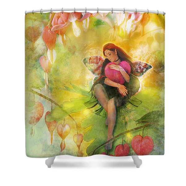 Cradle Your Heart Shower Curtain by Aimee Stewart