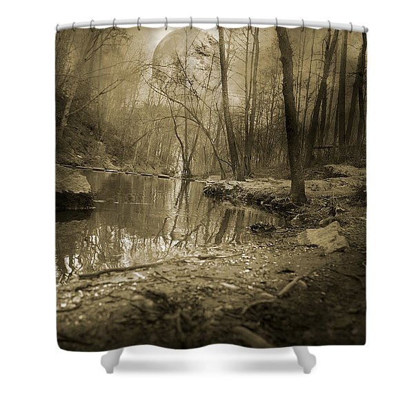 Culmination Shower Curtain by Betsy C  Knapp