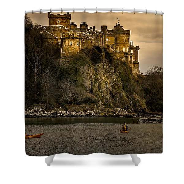 Culzean Castle Scotland Shower Curtain by Alex Saunders