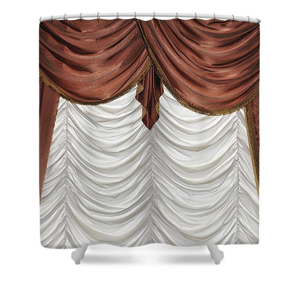 Curtain Shower Curtain by Matthias Hauser