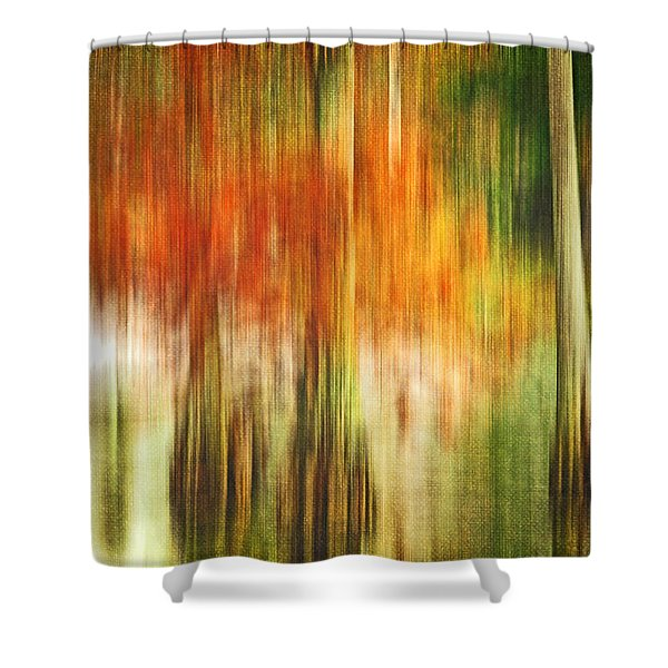 Cypress Pond Shower Curtain by Scott Pellegrin
