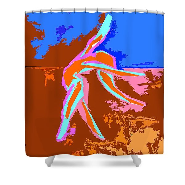DANCE OF JOY 2 Shower Curtain by Patrick J Murphy