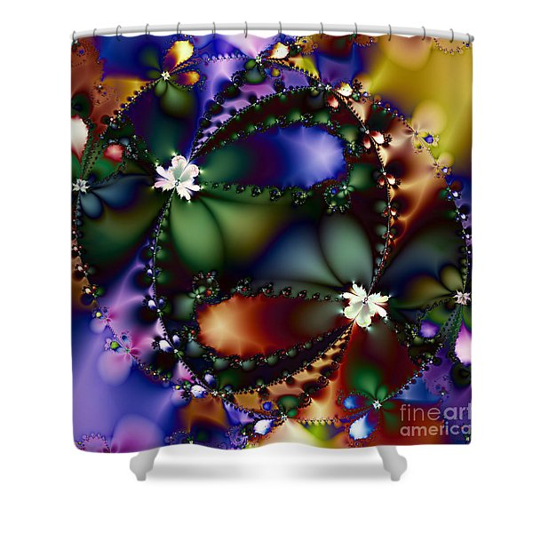 Dance Of The Gypsy Moths On A Moon Lit Night 20130510 square Shower Curtain by Wingsdomain Art and Photography