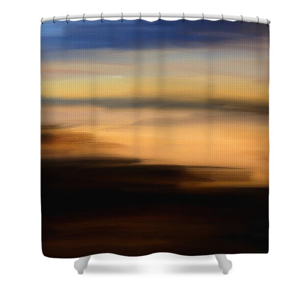 Darkness Dreams Shower Curtain by Lourry Legarde