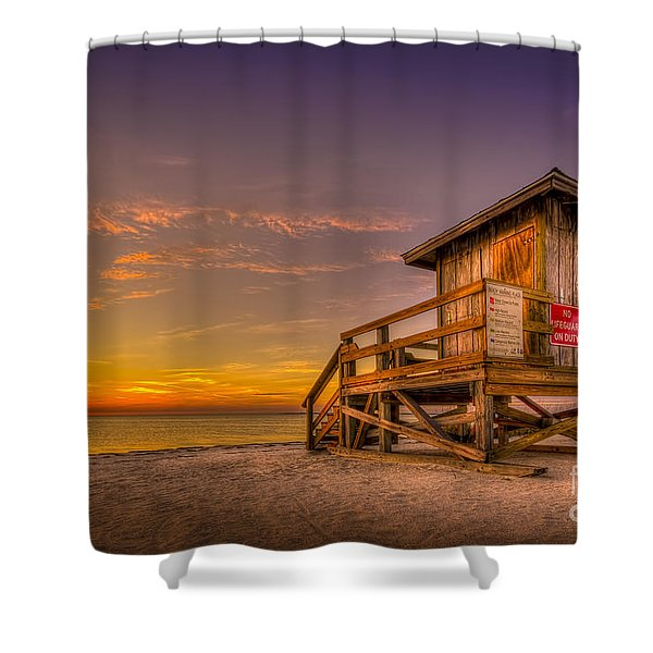 Day Before Spring Break Shower Curtain by Marvin Spates