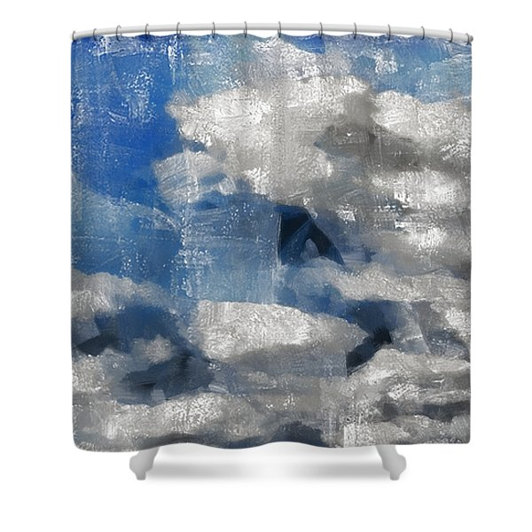 Day Dreamer Shower Curtain by Angelina Vick