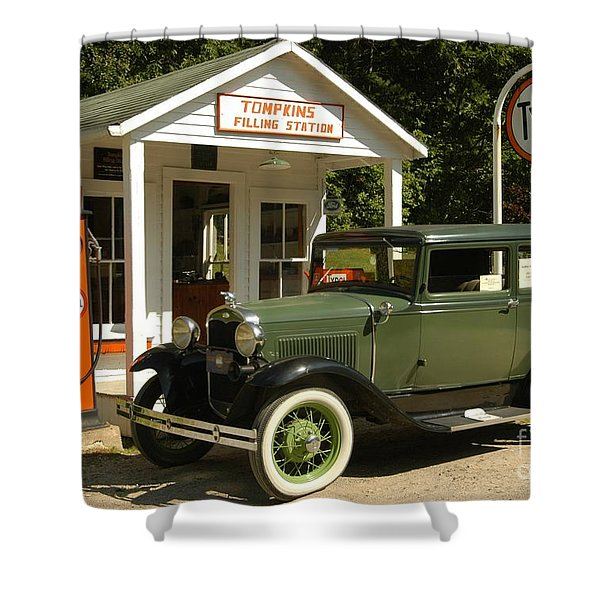 Days Gone By Shower Curtain by Kathleen Struckle