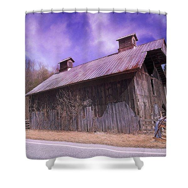 Dead Men Don't Tell Tales Shower Curtain by Betsy C  Knapp