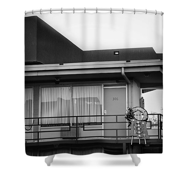 Death of Peace Shower Curtain by Mountain Dreams