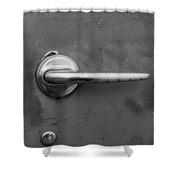Delicate Balance Shower Curtain by Fran Riley