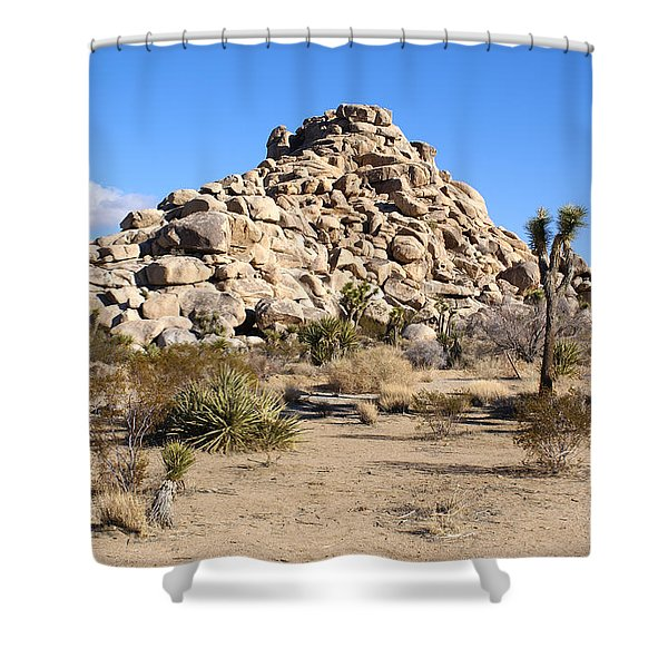 Desert Mound Shower Curtain by Barbara Snyder