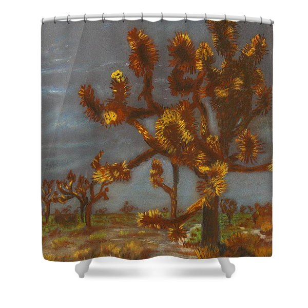 Dessert Trees Shower Curtain by Michael Anthony Edwards