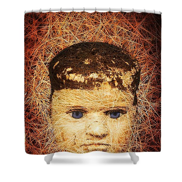 Devil Child Shower Curtain by Edward Fielding