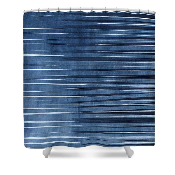 Diffuse Shapes Shower Curtain by Hakon Soreide