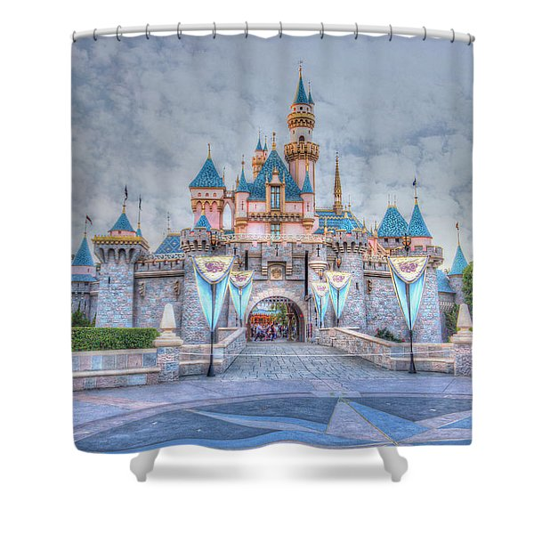 Disney Magic Shower Curtain by Heidi Smith