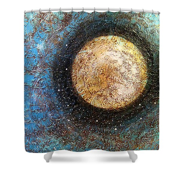 Divine Solitude Shower Curtain by Sharon Cummings