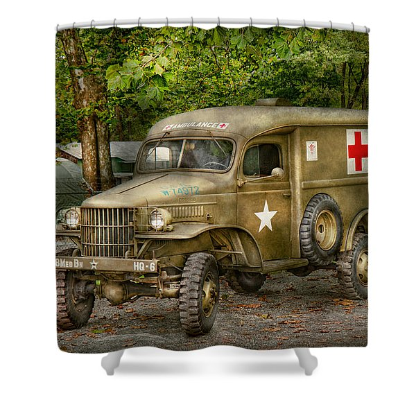 Doctor - MASH Unit  Shower Curtain by Mike Savad