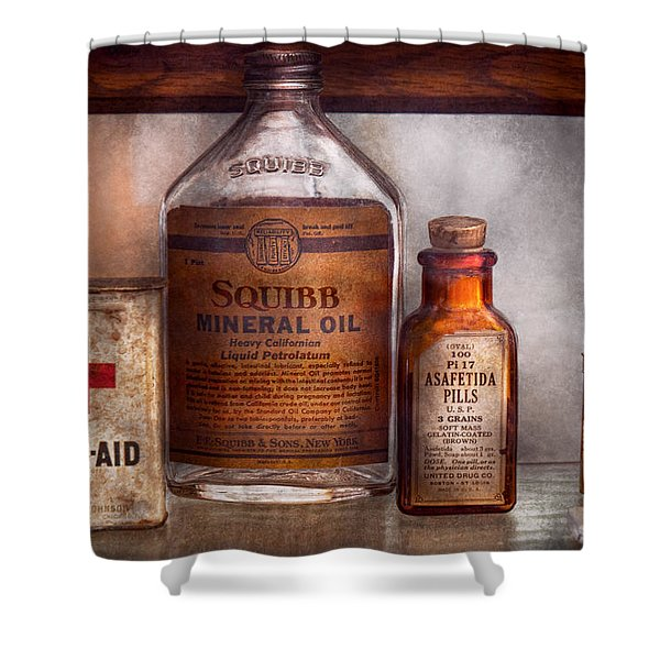 Doctor - Pharmacueticals  Shower Curtain by Mike Savad
