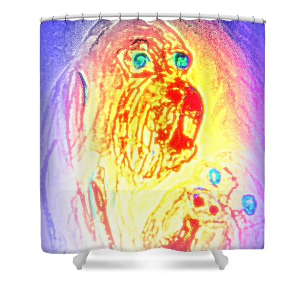 dogs are the truest Shower Curtain by Hilde Widerberg