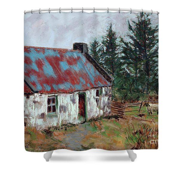 Dooish Hill Donegal Ireland Shower Curtain by Mary Benke
