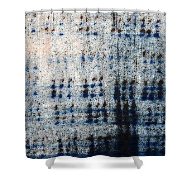 Dot Pattern Abstract Shower Curtain Shower Curtain by Deborah DR Kralich