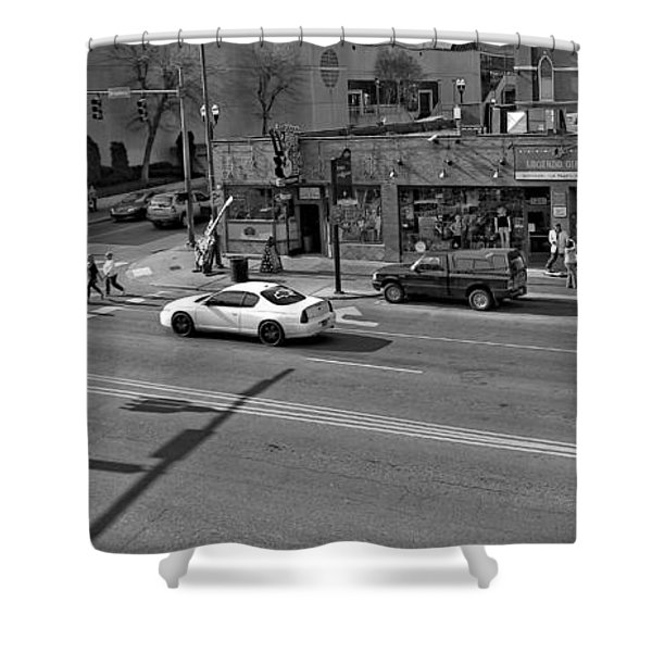 Downtown Nashville Legends Corner Shower Curtain by Dan Sproul
