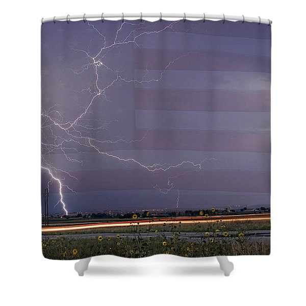 Drag On Usa Shower Curtain by James BO  Insogna