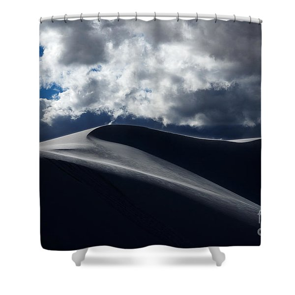 Drama On The Rim Shower Curtain by Vivian Christopher