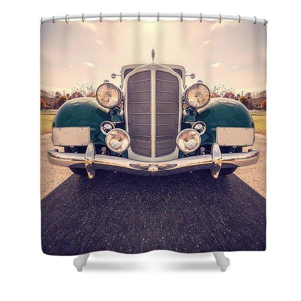 Dream Car Shower Curtain by Edward Fielding