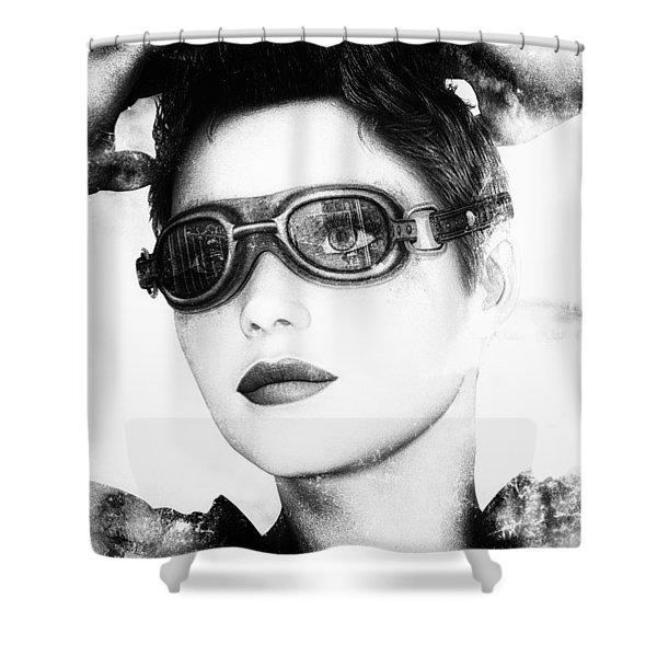 Dreamer Shower Curtain by Bob Orsillo
