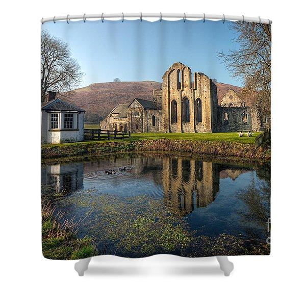 Duck Pond Shower Curtain by Adrian Evans