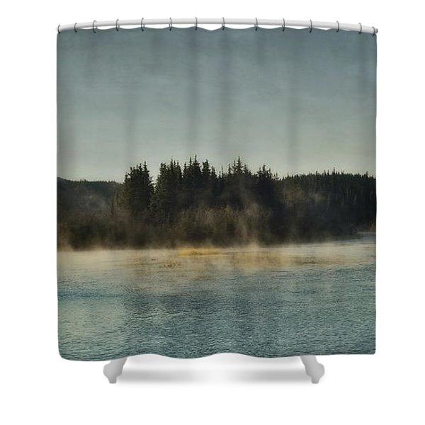 Early Morning Shower Curtain by Priska Wettstein