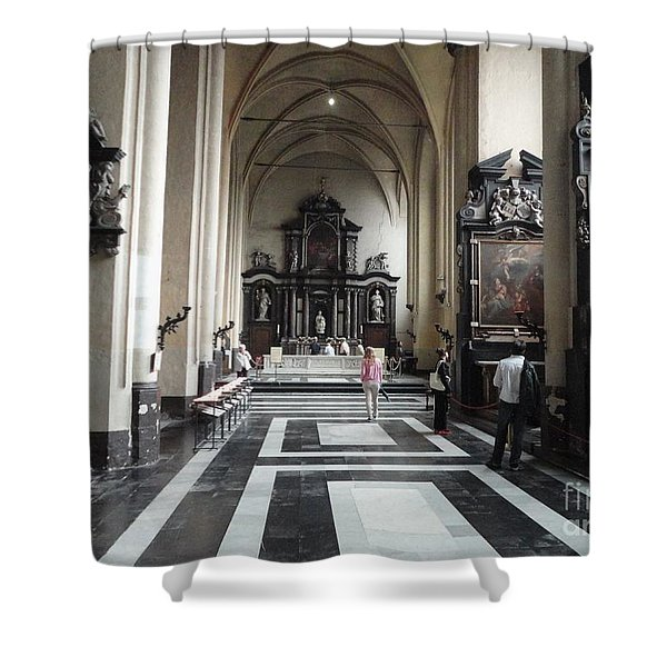 EASTER CELEBRATIONS Shower Curtain by PainterArtist FIN