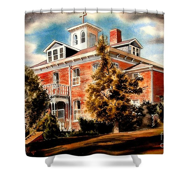 Emerson House Shower Curtain by Kip DeVore