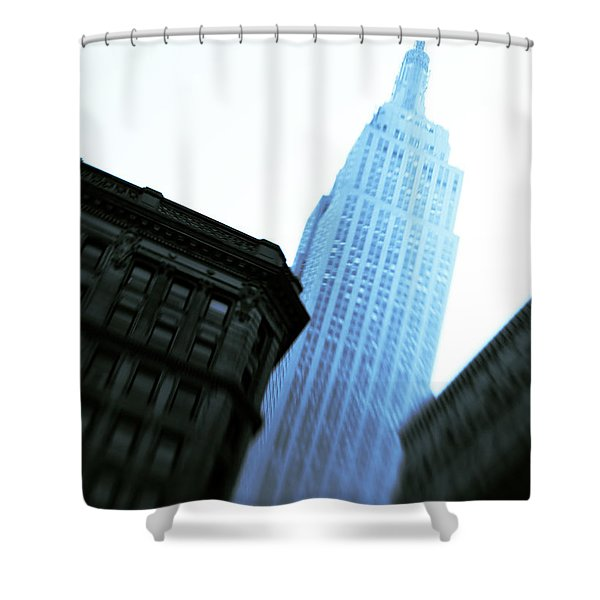 Empire State Building Shower Curtain by Dave Bowman