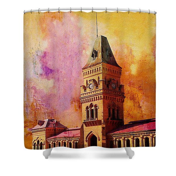 Empress Market Shower Curtain by Catf