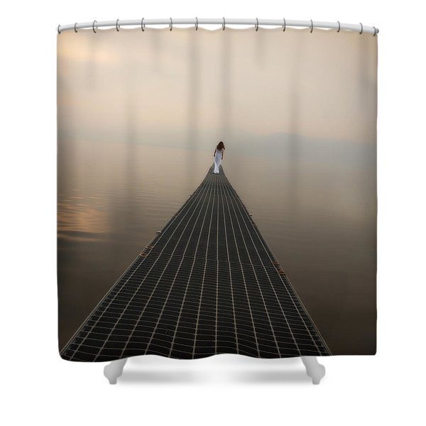 endlessly Shower Curtain by Joana Kruse